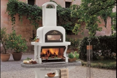 barbecue Nuovo Capri, Palazzetti