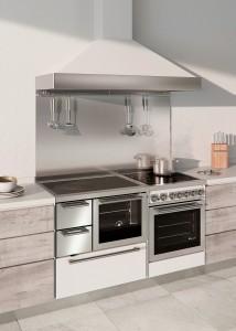 Cucina a legna classica F80+G60indu_Demanincor