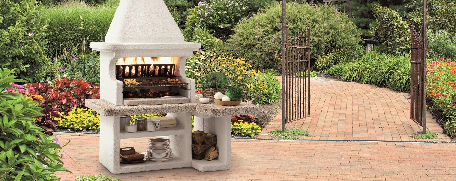 Caminetti barbecue da esterno costruire barbecue in - Caminetto per esterno ...